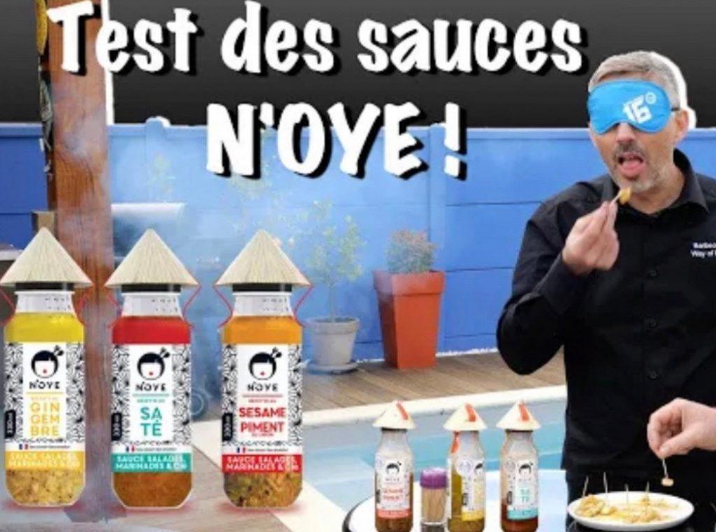 Test des sauces N'oye au BBQ