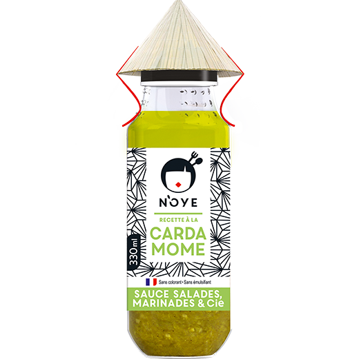 Bouteille Sauce N'oye Cardamome - 33cL