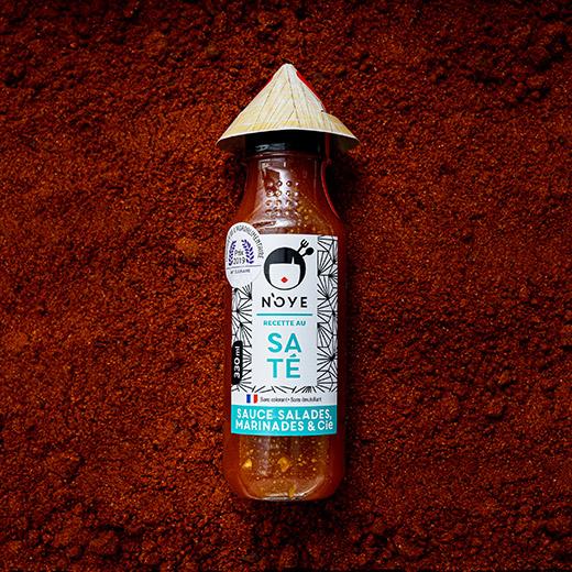 Packaging sauce N'oye Saté - 50cL