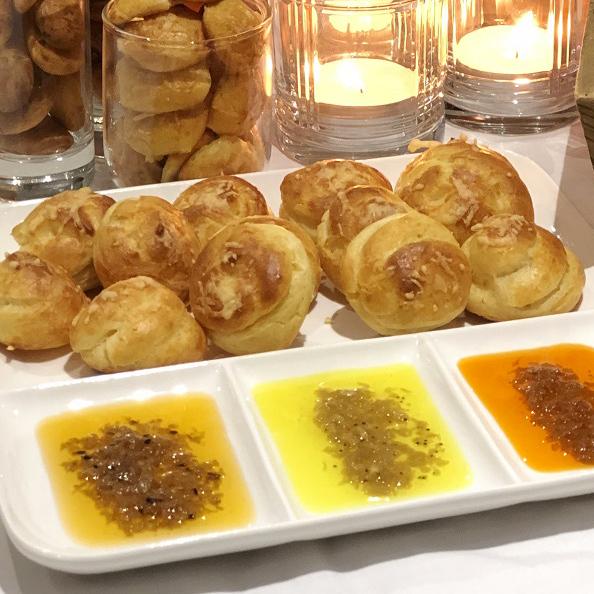 Gougères - Sauces N'oye