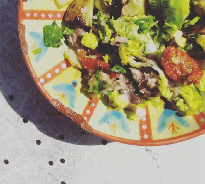La petite salade de Muriel - Sauce N'oye Sésame & Piment du Japon