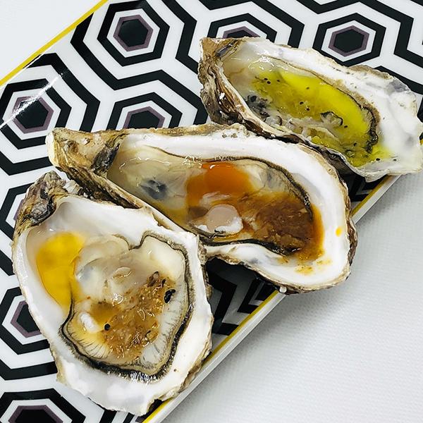N'oye avec des huîtres - Sauces N'oye