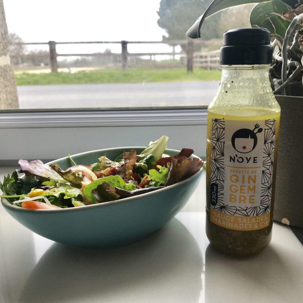 La petite salade d'Anna - Sauce N'oye Gingembre