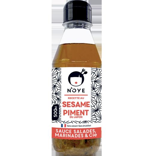 Bouteille Sauce N'oye Sésame & Piment du Japon - 50cL